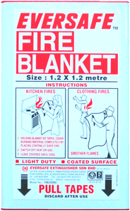fire blanket, fire extinguisher, helios, fire,  eversafe, eversafe International,  fire protection, fire prevention